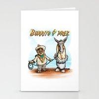 Burrito 4 Prez Stationery Cards