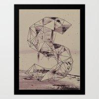 cosmico fantastico Art Print