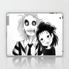 Beetle Juice fan art Laptop & iPad Skin