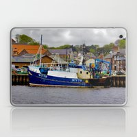 Fishing Trawler at Whitby Laptop & iPad Skin