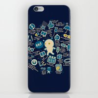 AWESOME BIBI'S GADGETS iPhone & iPod Skin