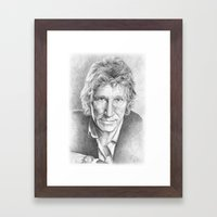Roger Waters Of Pink Flo… Framed Art Print