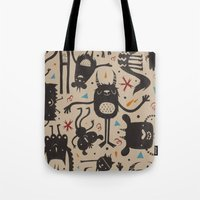 Topsy Turvy - Light Tote Bag