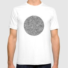Scallops Mens Fitted Tee White SMALL