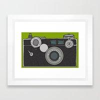 Argus Framed Art Print