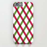 Holiday Ribbon Pattern iPhone 6 Slim Case