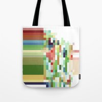 Tote Bag featuring Spectrum by Tina Carroll