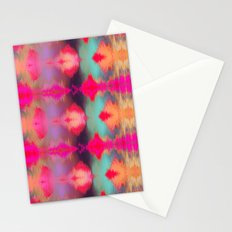 Watercolor Ikat Stationery Cards