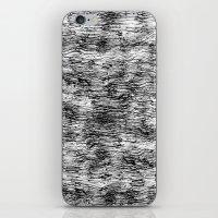 Black Pattern#4 iPhone & iPod Skin