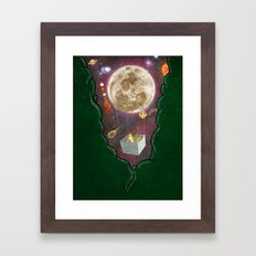 A Space Odyssey  Framed Art Print