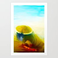 Pandaren Art Print