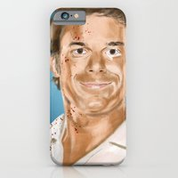 iPhone & iPod Case featuring Dexter by Thousand Lines Ink