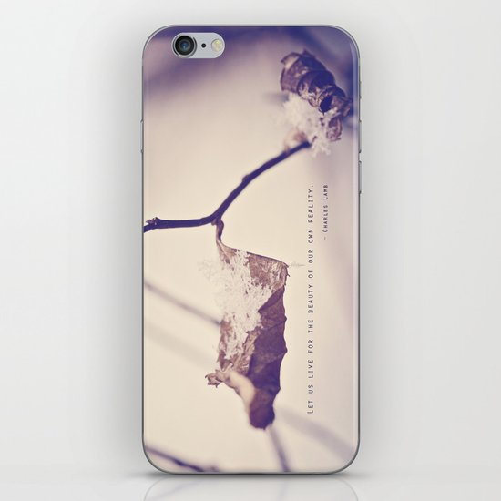 Live for the Beauty iPhone & iPod Skin