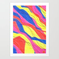 Untitled - Neon Art Print