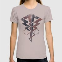 Lightning Bolt Womens Fitted Tee Cinder SMALL