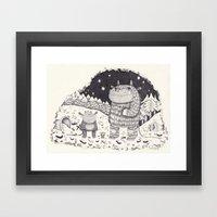 gruffalo Framed Art Print