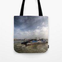 Thames Clipper  Tote Bag