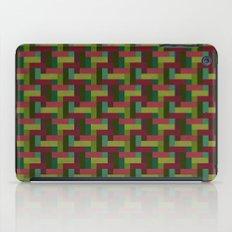 Woven Pixels III iPad Case
