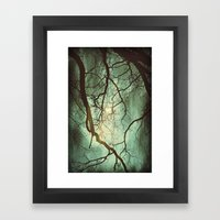 Earth's Moon Framed Art Print