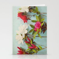 Blooming Azaleas Stationery Cards