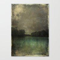 The Lake Susan Weller Canvas Print