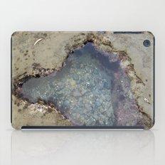 the heart shaped tide pool  iPad Case