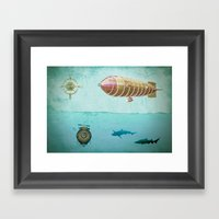 Navigators Framed Art Print