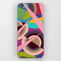 Delaunay Dreams iPhone & iPod Skin