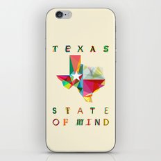 Texas State Of Mind iPhone & iPod Skin