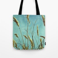 Aesthetic Grass Tote Bag