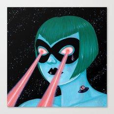 UFO Tattoo Canvas Print