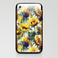 Sunflowers Forever iPhone & iPod Skin