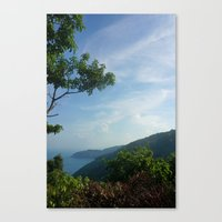 Secluded Seaside Canvas Print