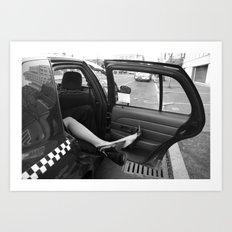 Taxi Cab Confessions Art Print