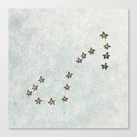 Scorpio X Astrology X Zo… Canvas Print