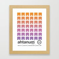ahtanum single hop Framed Art Print