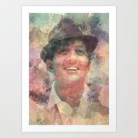 Dean Martin Art Print