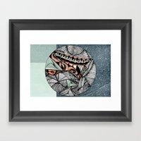 Mending world Framed Art Print