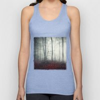 Spaces VII - Dreaming Woodland Unisex Tank Top