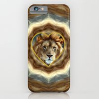 iPhone & iPod Case featuring LION - Aslan by Valerie Anne Kelly