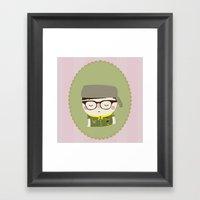 sam shakusky | moonrise kingdom Framed Art Print