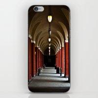 Hallways Of The Getty  iPhone & iPod Skin