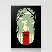 Let's Meet At The Red Po… Stationery Cards