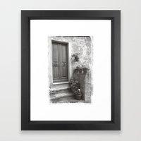 Rome Door 4 Framed Art Print