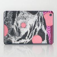 Pink Giraffe iPad Case