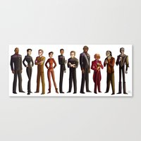 Star Trek: Deep Space Nine Canvas Print