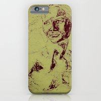 iPhone & iPod Case featuring Not A David Bust Print by Devin Sullivan