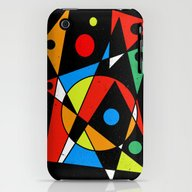 Abstract #120 iPhone (3g, 3gs) Slim Case