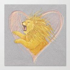 Lionheart Canvas Print