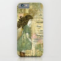 Stronger Than She Though… iPhone 6 Slim Case